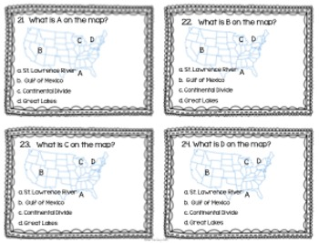 "4th Grade ""Kitchen Sink"" Extra Standards Task Cards {Scoot}"