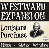 Louisiana Purchase Notes and Center Activities