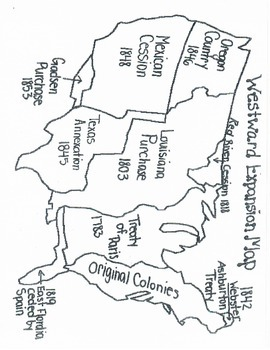 Westward Expansion Timeline Book