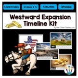 Westward Expansion Timeline Activity with Bulletin Board Kit