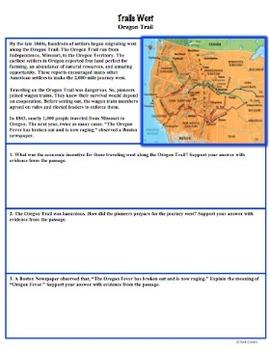 Westward Expansion: Trails West