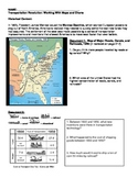 Westward Expansion - Transportation Revolution through map