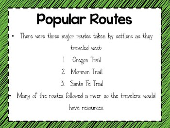 Westward Expansion: Traveling West TN SS 4.47 & 4.48