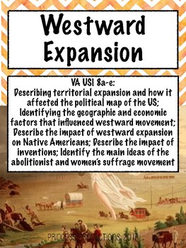 Westward Expansion - US History to 1865 Cornell Notes