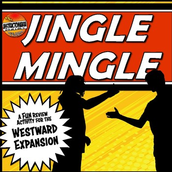 Westward Expansion Unit Jingle Mingle Fun, Review Activity