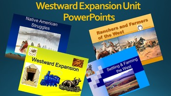 Westward Expansion Unit PowerPoints