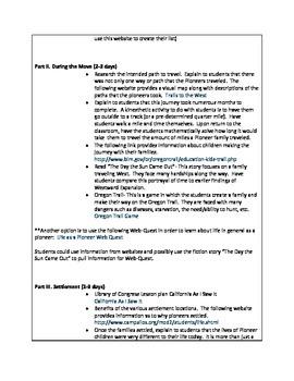 Westward Expansion Unit w/Digital Resources