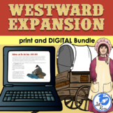 Westward Expansion Unit with Informational Text & Lapbook