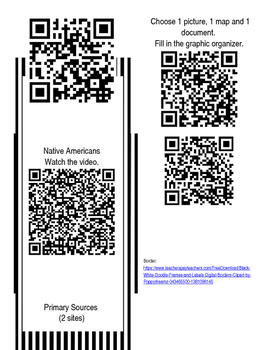 Westward Expansion Using QR Codes