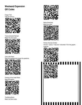 Westward Expansion Using QR Codes