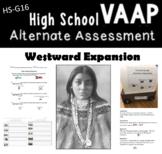 Westward Expansion VAAP HS G 16 Visual Helper Autism alternative assessments