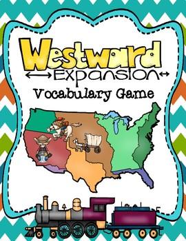 Westward Expansion Vocabulary Matching Game