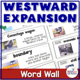 **1/2 Price for 24 hrs** Westward Expansion Vocabulary Word Wall