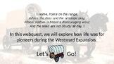 Westward Expansion Web Quest