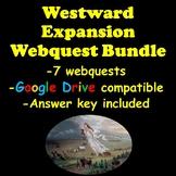 Westward Expansion Webquest Bundle