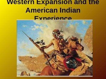 Westward Expansion and Native American History - Thematic