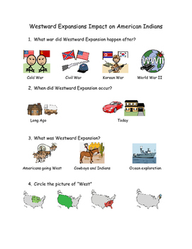 Westward Expansion and its impact on American Indians
