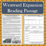 Westward Expansion and the Great Plains Reading Passage with Response Questions