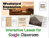 Westward Expansion for Google Classroom
