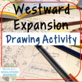 Westward Expansion in America Introduction Drawing Activit