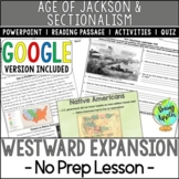 Westward Expansion of the 1800s, Manifest Destiny, Mexican