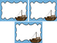 Westward Expansion themed Printable Blank Label Cards. Class Accessories.