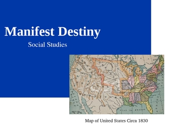 a history of how the manifest destiny and territorial expansion divided the united states from the 1 I have also published a general history of the territorial expansion of the united states (manifest destiny and american territorial expansion: a brief history with documents) i tend to focus on the transformation of gender roles in most of my work, from volunteer firefighting in 1820s baltimore to reactions to william walker's nicaraguan.
