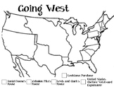 Westward Explorers Mapping Activity w/Directions