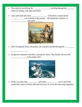 Westward Growth PowerPoint with Interactive Notes 4th Grade Social Studies