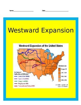 Westward Growth PowerPoint with Interactive Notes 4th Grad