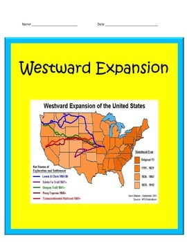 Westward Growth UNIT 4th Grade Social Studies