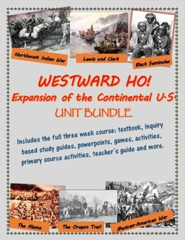 Westward Ho! - Expansion of the Continental U.S. unit bundle, including text