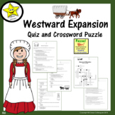 Westward Migration Quiz and Crossword Puzzle Distance Learning