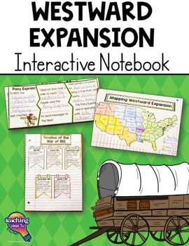 Westward Movement Interactive Notebook 5th Grade Coordinat