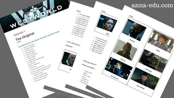 Westworld - TV series - Worksheets for ESL students