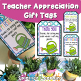 Wet My Plants Tags for Teacher Appreciation Gifts