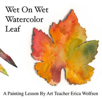 Wet On Wet Leaf Painting