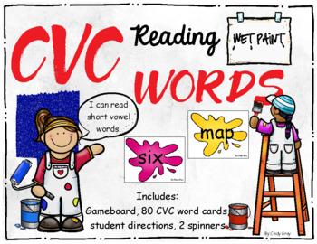 Wet Paint ~ Reading CVC Words