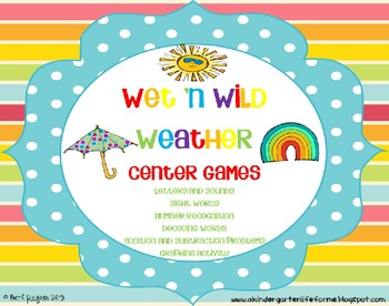 Wet 'n Wild Weather Center Games