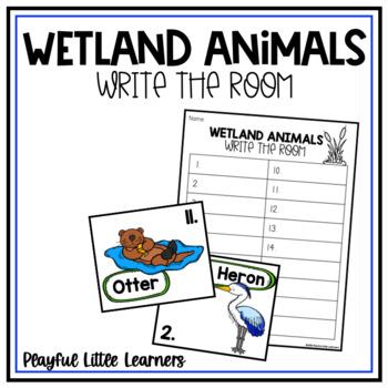 Wetland Animals Write the Room