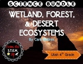 Wetland, Forest, and Desert Ecosystem Complete Unit Bundle