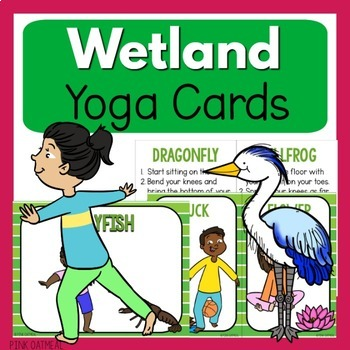 Wetland Theme Yoga Pack - Bundle