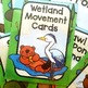 Wetland Themed Movement Cards