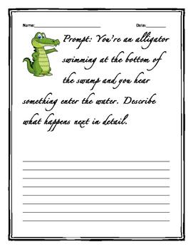 Wetlands/Alligator Writing Prompt