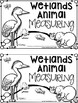 Wetlands Animal Measuring Book and Measurement Math Center
