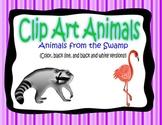 Wetlands Animals Clipart