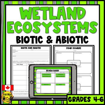 Wetlands- Biotic and Abiotic