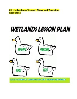 Wetlands Lesson Plan