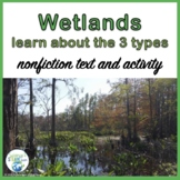 Wetlands Nonfiction Article and Activity