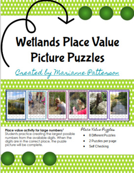 Wetlands Place Value Picture Puzzles